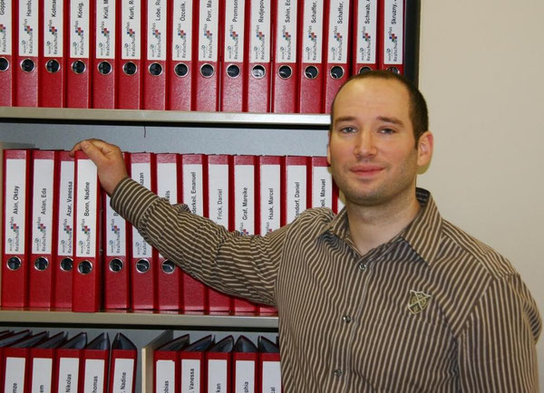 Unser päd. Koordinator Jochen Geeck - Wegbereiter des Berufswahlportfolios an unserer Schule