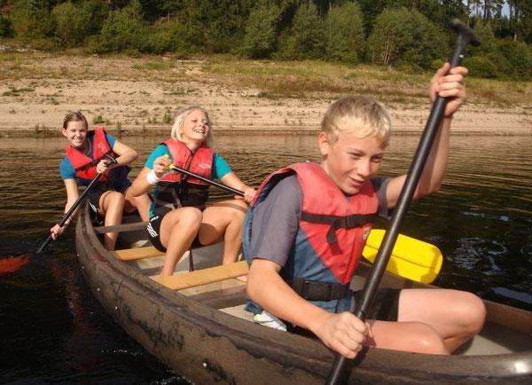 Trotz der Anstrengung herrschte tolle Stimmung im Boot