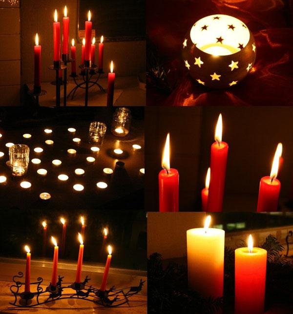 Kerzenlicht schafft einfach eine tolle Atmosphäre