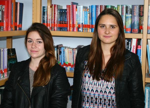 Felicia Stroh (10c) und Amelie Zuber (10a)