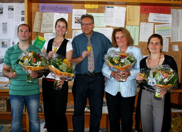 Jochen Geeck, Andrea Reinig, Joachim Paul, Birgit Ziellenbach, Jutta Gless