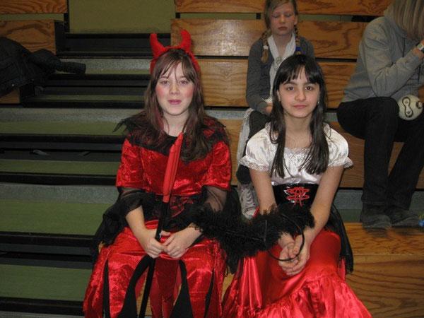 Viele Schüler kamen in tollen Kostümen