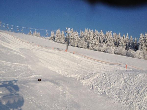 Optimale Wintersportbedingungen am Feldberg