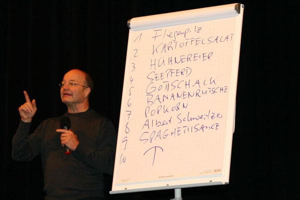 Wortreihen lernen - mit Herrn Staubs Technik kein Problem