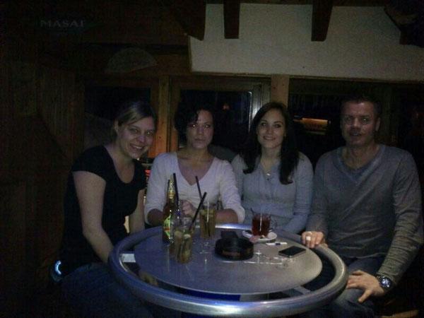 Die Betreuer: Frau Schlippe, Frau D. Ehmer, Frau L. Ehmer und Herr König