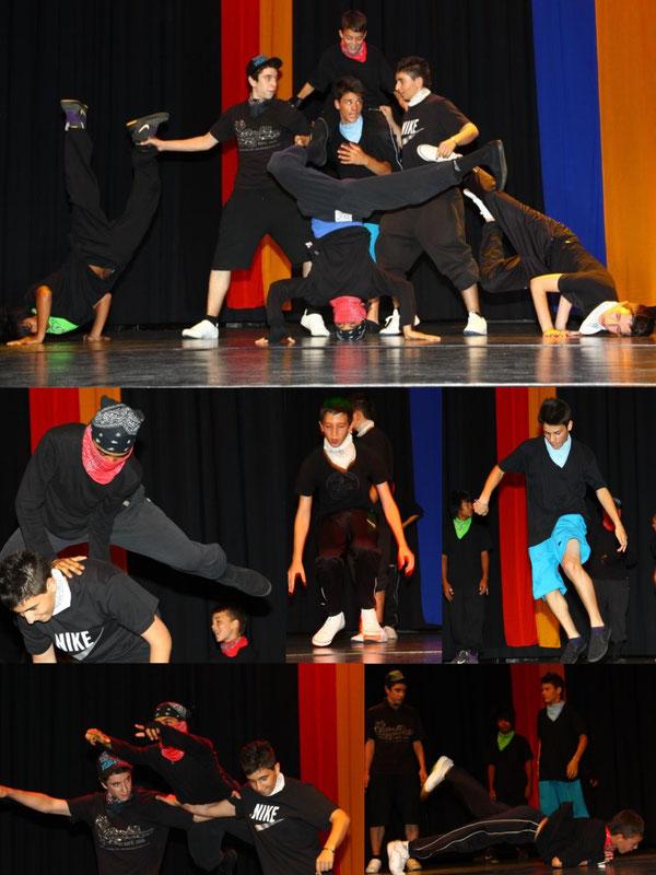 Breakdancer unter sich