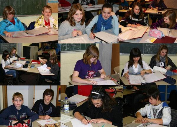 Arbeit mit dem Portfolioordner in den Klassenstufen 6 und 8