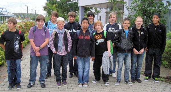 """Die Teilnehmer der """"Mensch Junge""""-Woche"""