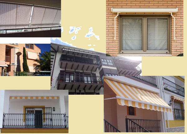 Toldos para balcones y galerías