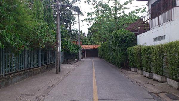 プラカノンの住宅街