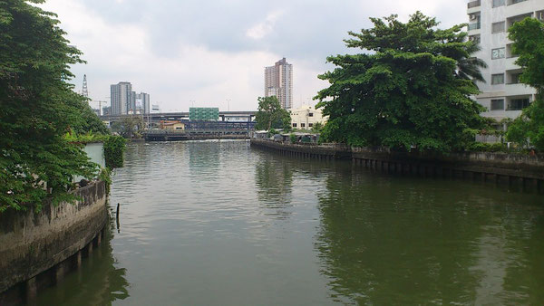 プラカノンの運河
