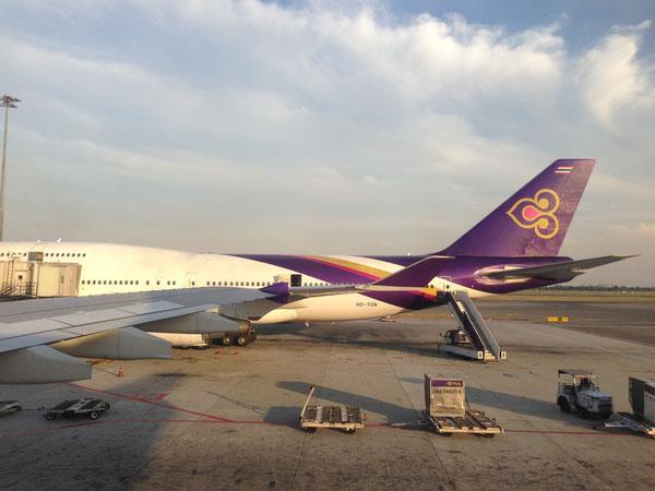 スワンナプーム国際空港 タイ航空