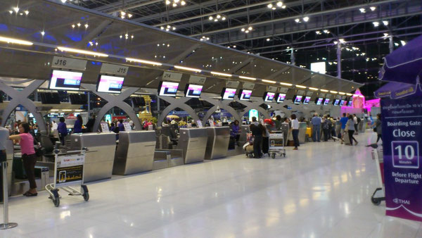スワンナプーム国際空港内
