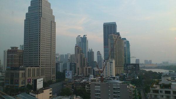 アソークからの眺め バンコクの街並み