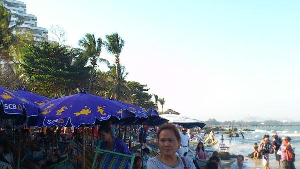 ホアヒン(フア・ヒン)ビーチ(Hua Hin Beach)