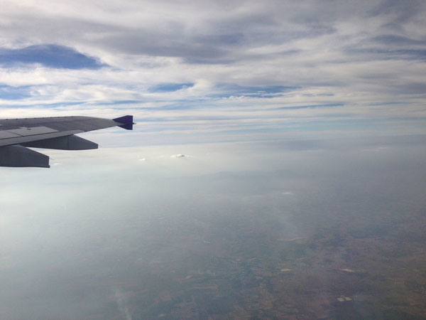 タイ イサーン上空より