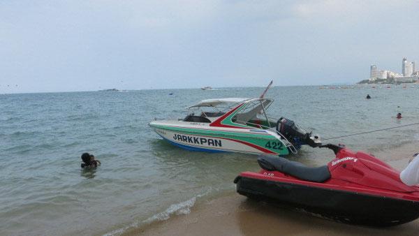 パタヤ ボートを借りて返したときに壊しただろう?と言われ多額な費用を請求されている観光客が後を絶たない