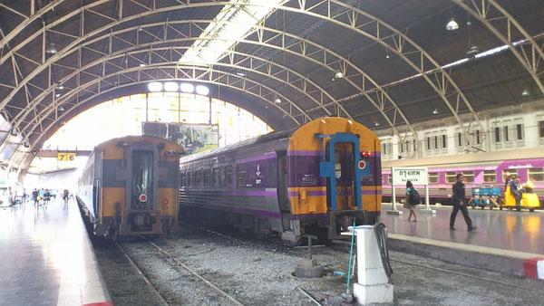 タイ国鉄 バンコクからパタヤ