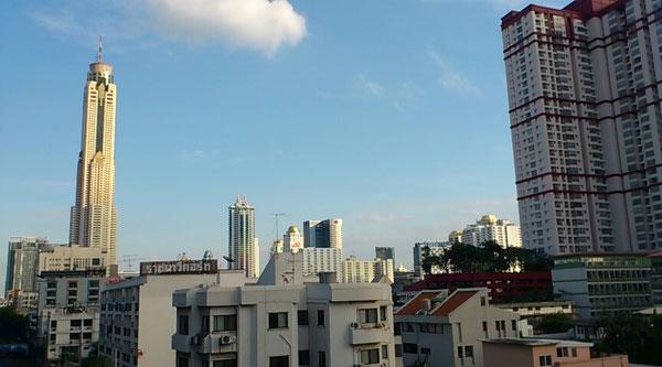 パヤタイからバイヨークスカイビルの眺め