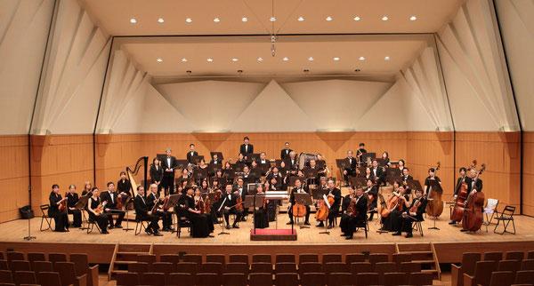 八王子シティオーケストラ クリスマスコンサート2016 全体写真