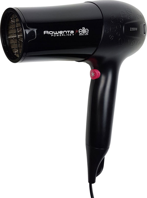 Test Fön: Rowenta Elite Powerline Haartrockner CV12 mit 2200 Watt, Rowenta Elite Fön, Rowenta Elite Model look Fön, fön rowenta