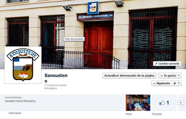 Ir al Facebook de Sansustene