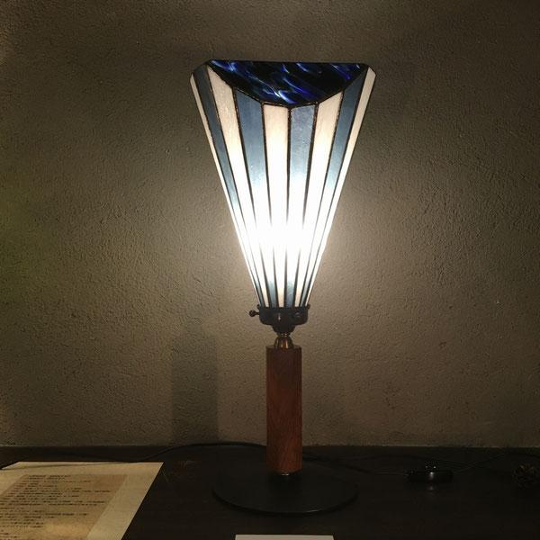 「ステンドグラスの灯り展」工房KAZ 大須賀昭彦・和子 ギャラリーシュタイネ