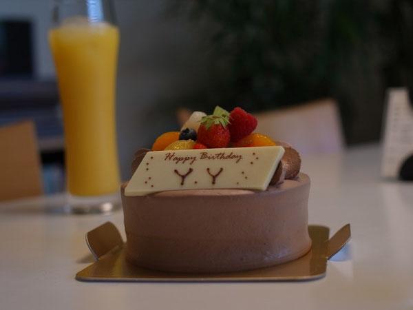 news設計室 誕生日 バースディケーキ