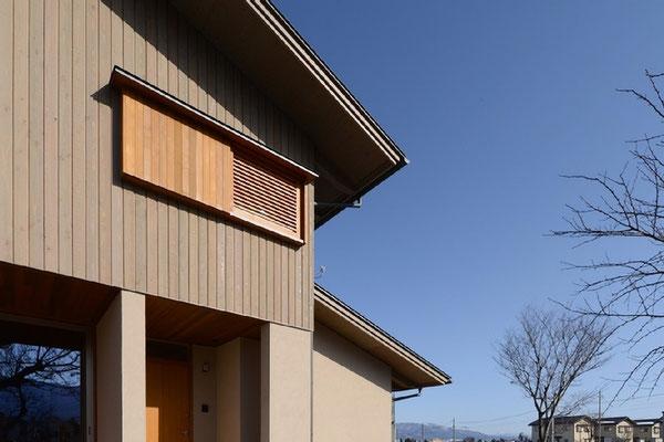 三郷の家Ⅱ(安曇野市)信州カラマツ「カラマツT&Tパネル」