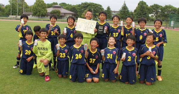 成田市近隣大会(5年生) 成田SSS準優勝!