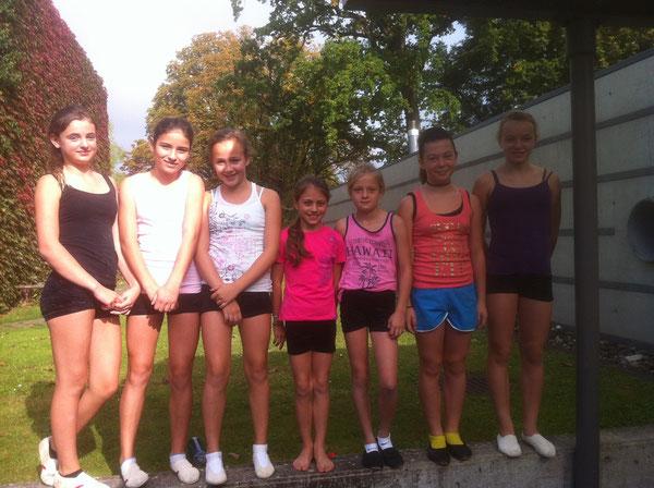 Sina, Irina, Giulia, Janine, Lena, Jessica und Vera waren dabei und haben viel gelernt!