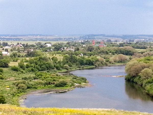 Это моё село Ериловка..Вдали, слева, с.Черкассы, выше д.Колосовка, правее с.Талица,а выше д.Поповка