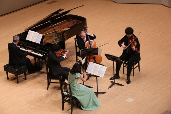 Max Bruch:Piano Quintett g-Moll  P.寺嶋 陸也 Vn.加藤 知子  水谷 晃 Vla. 村上 淳一郎 Vc. 安田 謙一郎