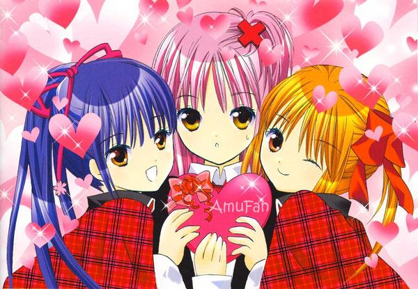 Fond d'écran Amu, Yaya et Nadeshiko !
