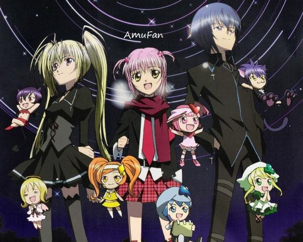 Fond d'écran Amu, Utau, Ikuto, Ran, Miki, Sû, Dia, Iru, Eru et Yoru !