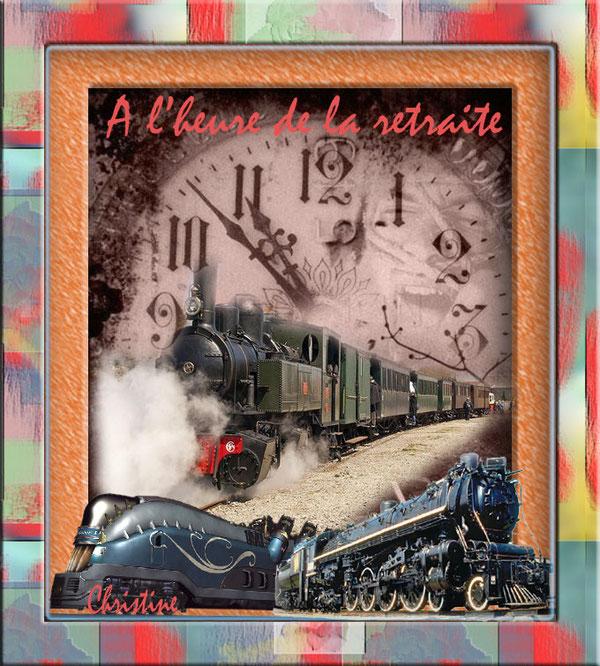 je fabrique des trains .......