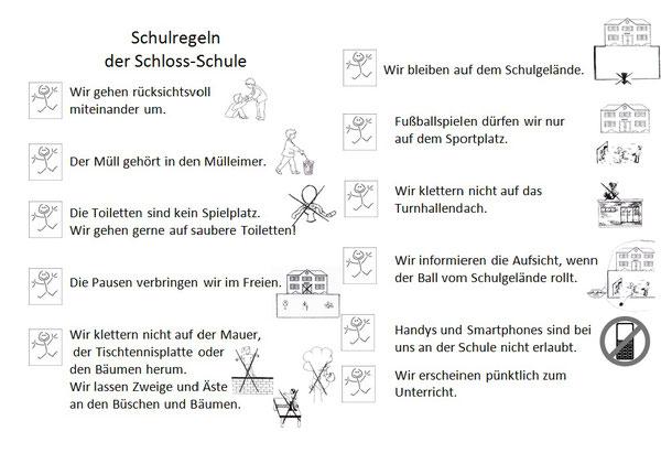 Schulregeln der Schloss-Schule Braunfels