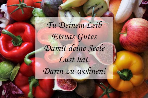 """""""Der Mensch ist was er isst"""""""
