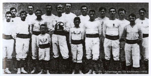 Turnerriege des TSV 1889 Kirchlinde e.V. um 1910