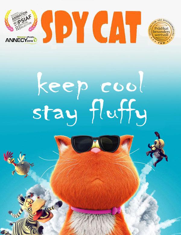 #萌宠特工队  , #spycat ,  #diesagenhaftenvier , #lagrandecavale