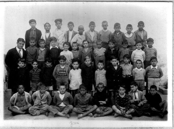 Classe de Mr SUTTER  - 2ème rang, 5ème à partir gauche, Jean FEIJOO