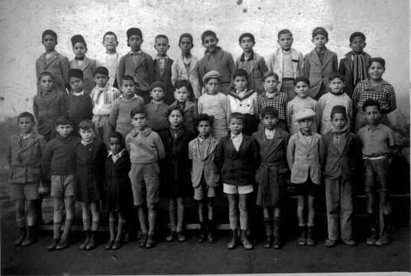 Année 1936  2ème rang, 6ème à partir de gauche, Jean FEIJOO