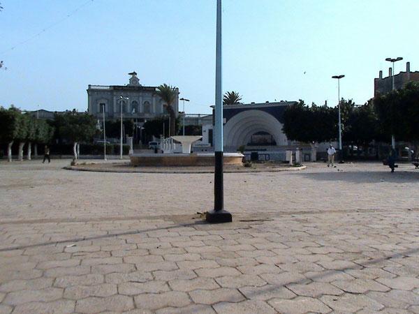 La Place de la Mairie, septembre 2010