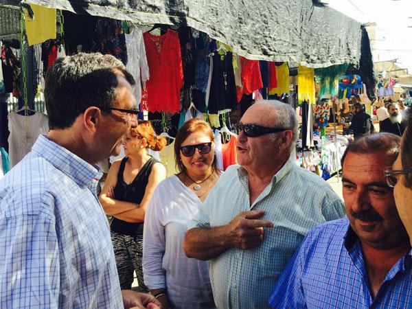 Ballesta apuesta por los mercados y las plazas de abasto para reactivar el empleo en el municipio