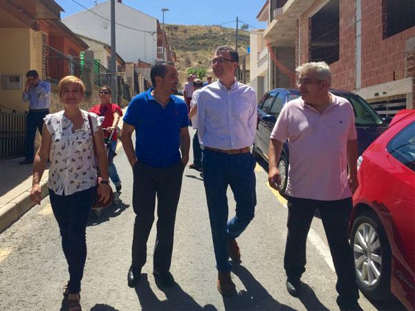 Ballesta anuncia mejoras en el transporte público en pedanías y apuesta por construir la Variante de Puente Tocinos