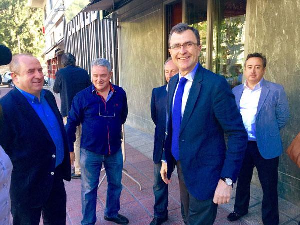 Ballesta quiere crear nuevos parkings gratuitos y disuasorios en la ciudad