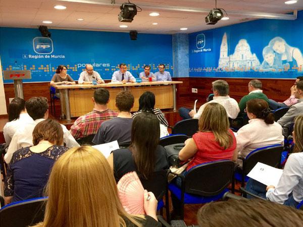 Más de 200 voluntarios se suman a la campaña de José Ballesta a la alcaldía
