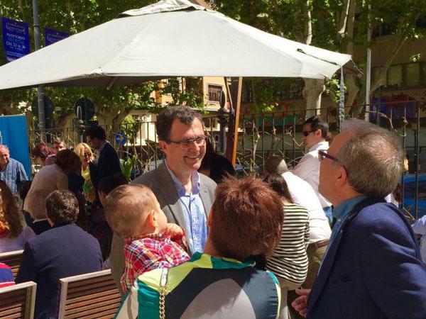 Ballesta propone bajar el coste de las guarderías de Murcia y adaptar los horarios al trabajo de los padres