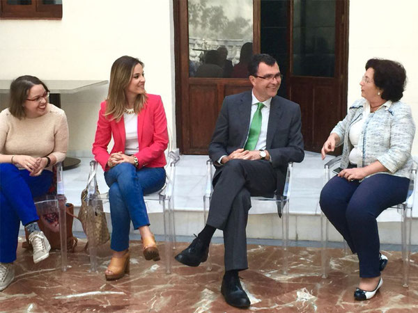 Ballesta apuesta por un programa electoral elaborado a partir de propuestas sociales