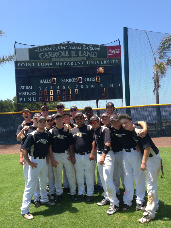 Rocky Mountain Baseball at Point Loma University San Diego California
